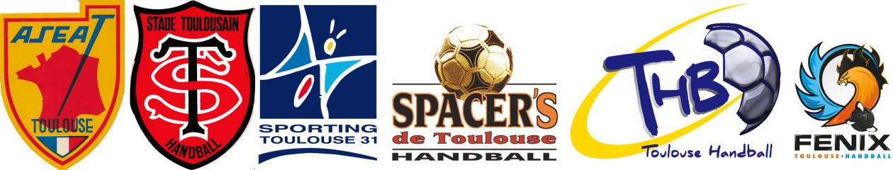 Les Anciens de l'ASEAT au Toulouse Handball